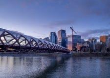 Calgary skyline Royalty Free Stock Image