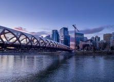 Calgary skyline Royalty Free Stock Images