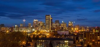 Calgary skyline Stock Images