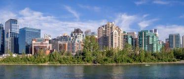 Calgary skyline in summer Stock Images