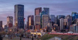Calgary skyline Stock Photos