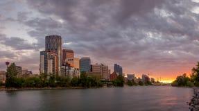 Calgary skyline Stock Image