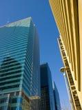 Calgary Skyscrapers Royalty Free Stock Photos