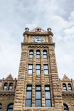 Calgary-Stadt Hall Clock Tower Lizenzfreies Stockfoto
