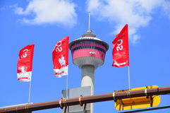 Calgary Stampede Banners Royalty Free Stock Photos