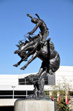 Calgary Stampede, Cowboy statue Royalty Free Stock Images