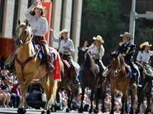 Calgary Stampede Parade 2014- Greatest Outdoor Show on Earth Stock Images