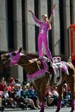 Calgary Stampede Parade 2014 -- greatest outdoor   show on earth Stock Photo
