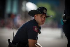 Calgary Stampede Parade 2018. Greatest show on earth Stock Images