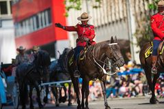 Calgary Stampede Parade 2018. Greatest show on earth Royalty Free Stock Photos