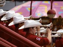 Calgary Stampede Showband Royalty Free Stock Photo