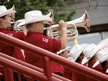 Calgary Stampede Showband Stock Photography