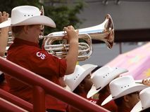 Calgary Stampede Showband Royalty Free Stock Photos