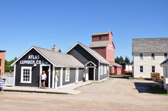 Calgary, stationnement d'héritage Image stock