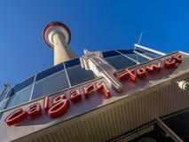 Calgary torn Arkivfoton