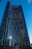 Calgary, torre da curva Fotografia de Stock