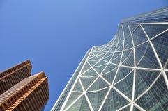 Calgary, torre del arqueamiento Foto de archivo
