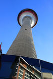 Calgary Tower. Downtown Calgary, Alberta Stock Photos