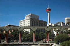 Calgary Tower Royalty Free Stock Photography
