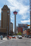 Calgary view Stock Images