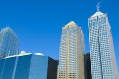Calgary-Wolkenkratzer Stockfotos