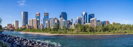 Calgary's skyline Stock Photo