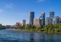 Calgarys Skyline Stockfotos