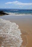 Calheta beach and sea Royalty Free Stock Photo