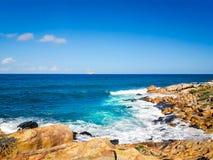 Calhetas-Strand auf Innenraum von Pernambuco, Brasilien stockfoto