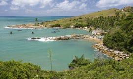 Calhetas Strand, Pernanbuco, Brasilien Lizenzfreies Stockbild