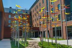 Calhoun Honors College at Clemson. Clemson, sc, usa - may 2: calhoun honors college at clemson university on may 2, 2019 in clemson, south carolina academia stock photos