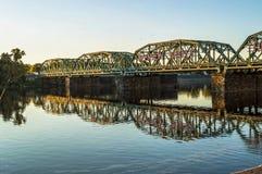 Calhoun Street Bridge Royalty Free Stock Photo