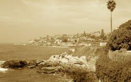 cali海岸 库存照片