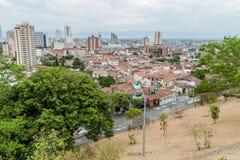 Cali in Colombia royalty-vrije stock afbeeldingen