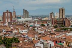 Cali in Colombia stock afbeeldingen