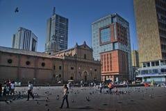 cali Colombia w centrum Francisco plac San Obraz Stock