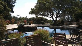 Cali Pool scénique photos stock