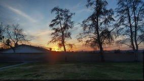 California sunset. Cali sunset hemet sky hdr Royalty Free Stock Images
