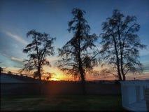 California sunset. Cali sunset hemet sky hdr Royalty Free Stock Photos