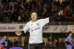 CALI - USAP contre Biarritz - rugby français du principal 14 Photographie stock libre de droits