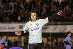 CALI - USAP versus Biarritz - Frans Hoogste Rugby 14 Royalty-vrije Stock Fotografie