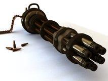 caliber μεγάλη μηχανή πυροβόλων όπ& Στοκ εικόνες με δικαίωμα ελεύθερης χρήσης