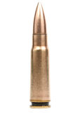 7.62 caliber bullet Stock Photography