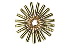 .303 Caliber bullets royalty free stock images