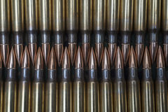 308. caliber rifle ammunition Stock Photography