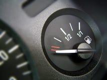 Calibrador de combustible Imagenes de archivo