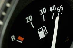 Calibrador de combustible fotos de archivo libres de regalías