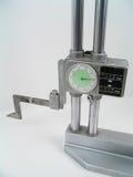 Calibrador de la altura foto de archivo