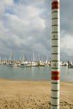 Calibrador de la marea Fotografía de archivo libre de regalías