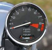 Calibrador de la motocicleta Fotos de archivo libres de regalías